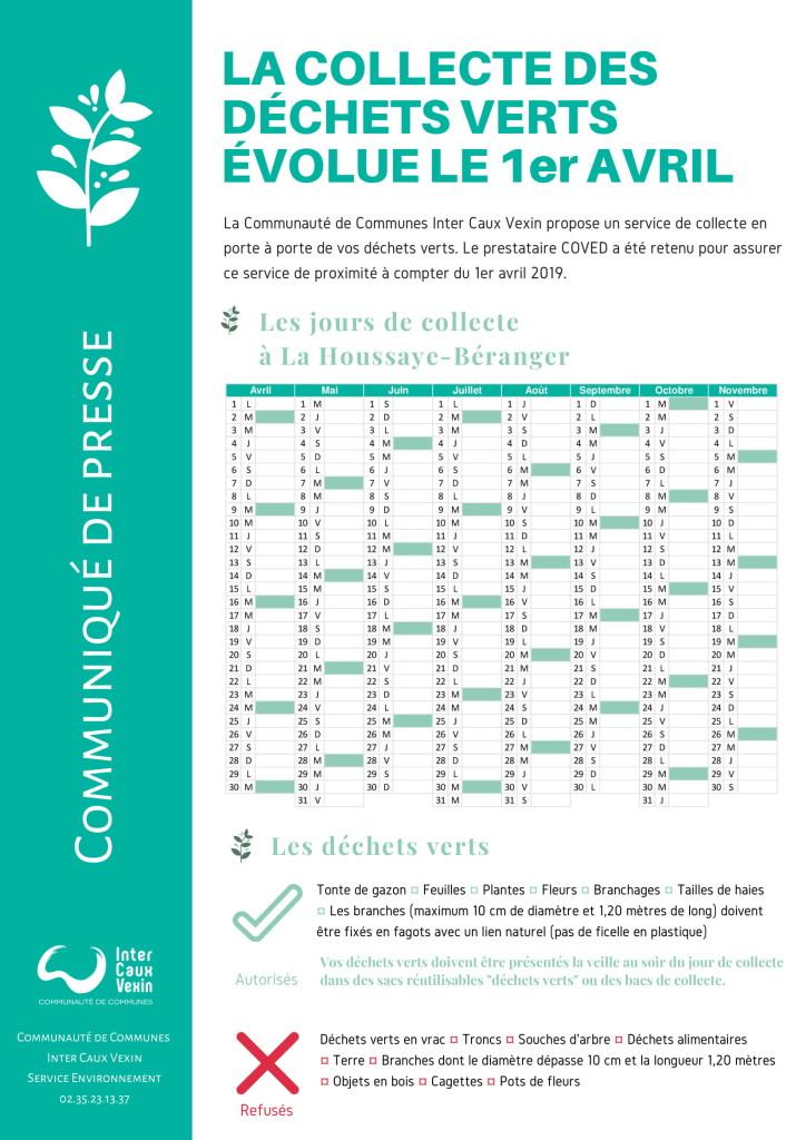 La Houssaye Béranger - La collecte des déchets verts évolue-1